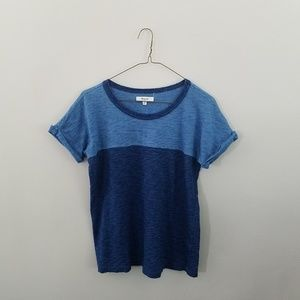 Madewell Tops - Madewell Blue Courier Tee
